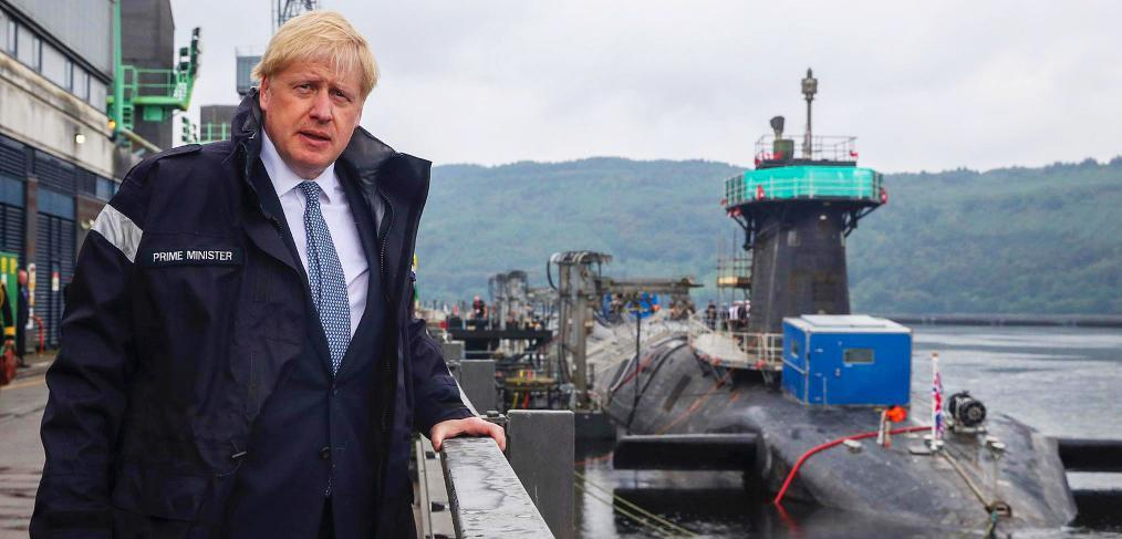 Boris Johnson Royal Navy
