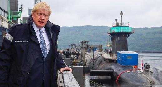 Boris Johnson Royal Navy