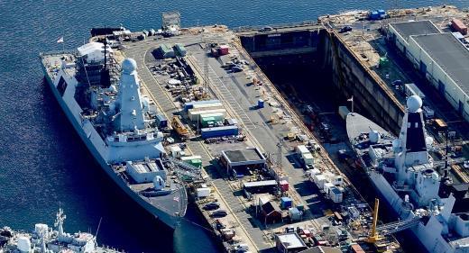 HMS Dauntless Portsmouth