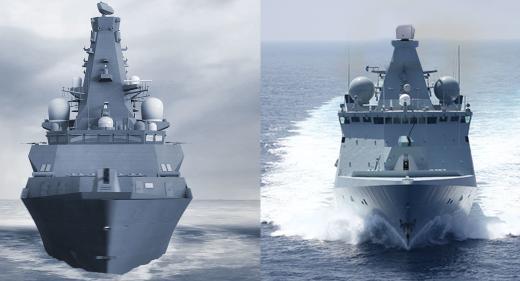 Type 26 v Type 31 frigates