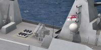 Royal Navy combatants – fitted for, but not with anti-ship missiles