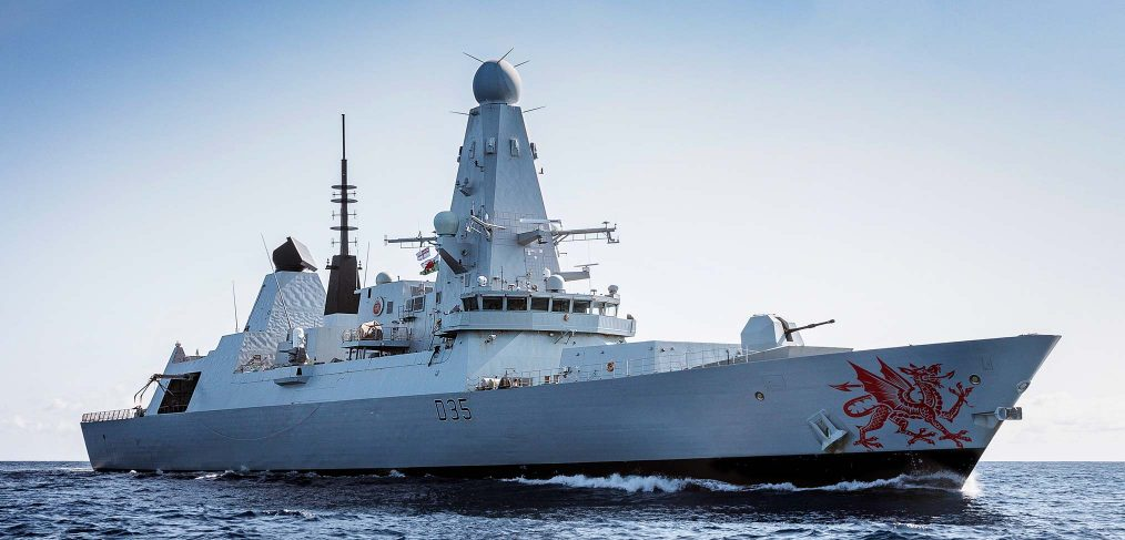 HMS Dragon Type 45 Destroyer Royal Navy