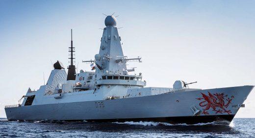 HMS Dragon Type 45 Destroyer Royal Navy