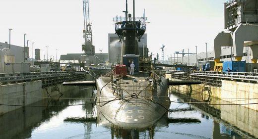 Vanguard class submarine 9 Dock Devonport
