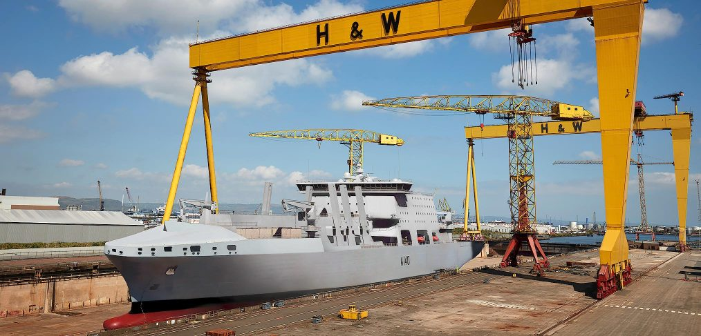 Fleet Solid Support Ship Harland & Wolff