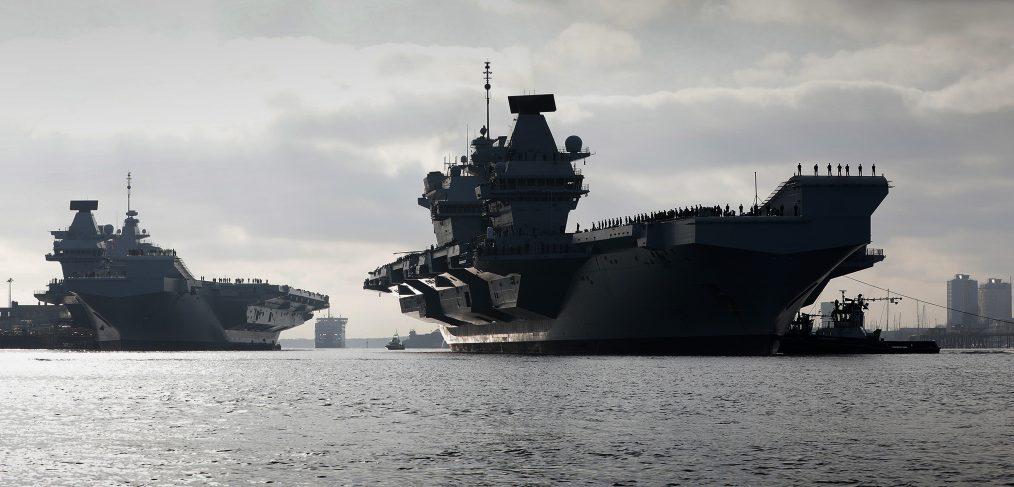 HMS Prince of Wales and HMS Queen Elizabeth
