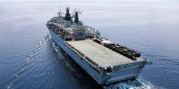 Royal Navy amphibious warfare capability in flux