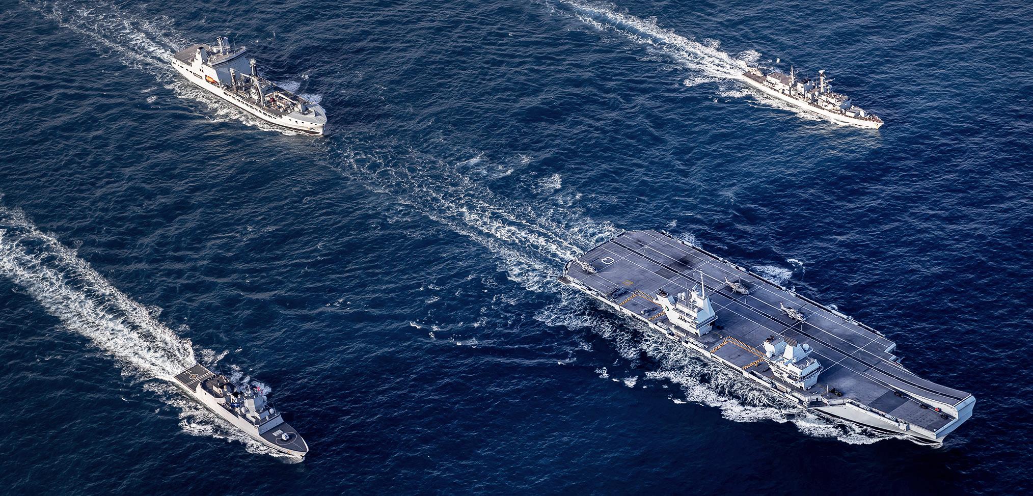 UK Carrier Strike Group
