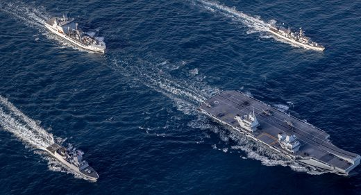 UK Carrier Strike Group