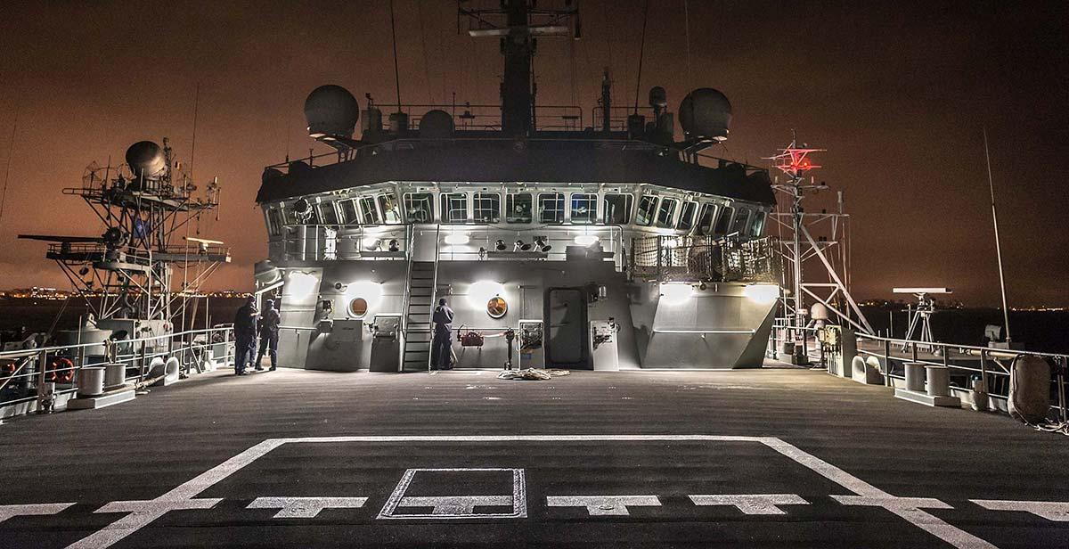HMS Enterprise Black Sea
