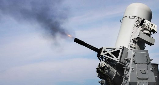 Phalanx CIWS Royal Navy