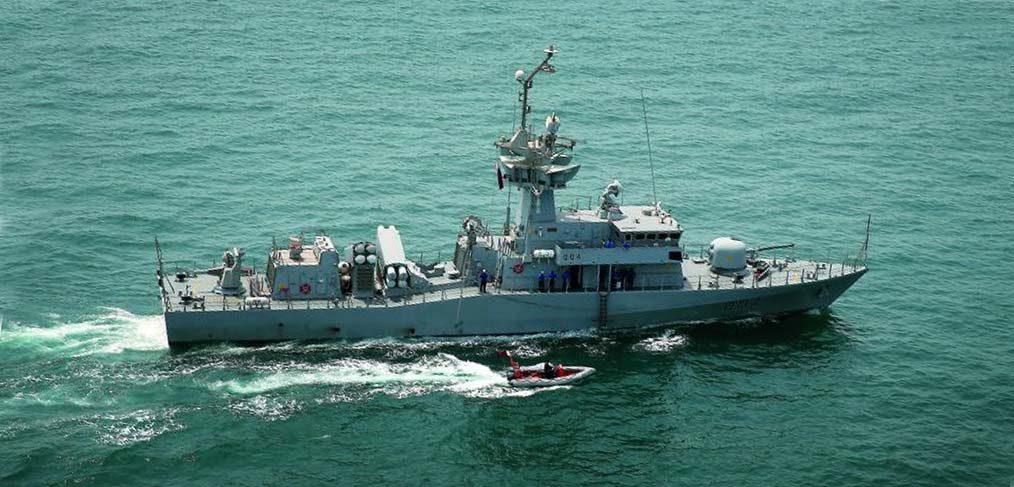 Barzan class Qatar Navy