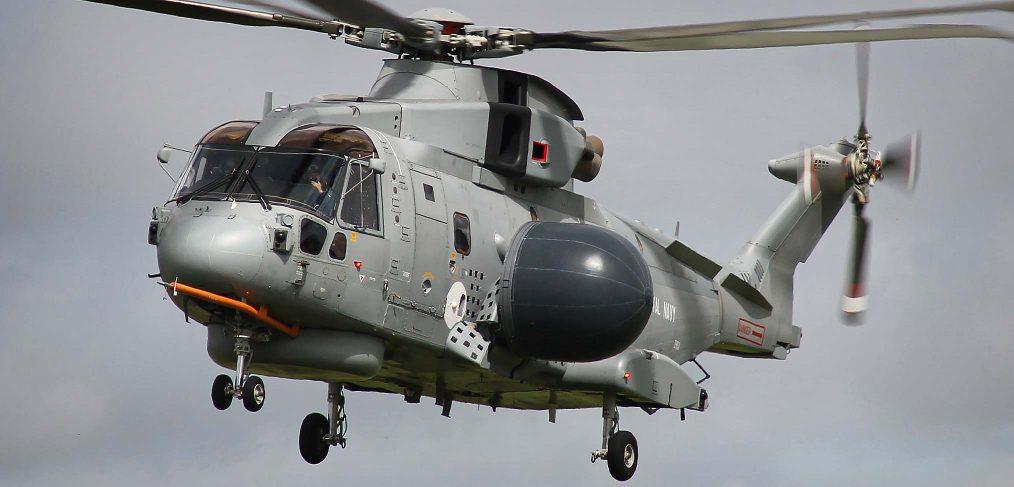 Merlin trials aircraft - Crowsnest