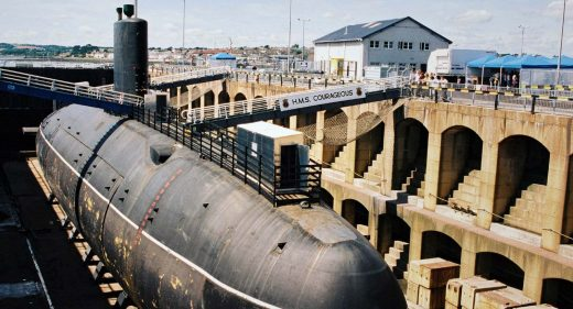 HMS Courageous South Yard Devonport