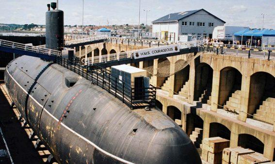 HMS Courageous South Yard Devonport