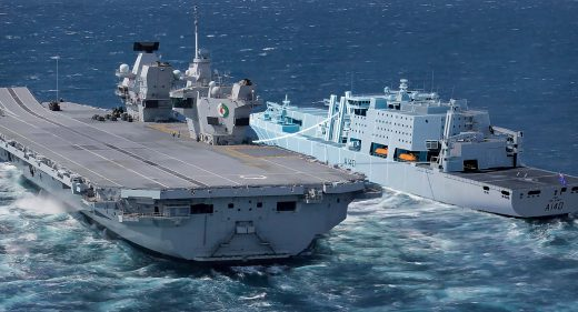 Fleet Soild Support Ship concept and HMS Queen Elizabeth