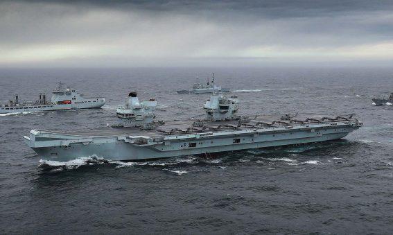 HMS Queen Elizabeth Carrier strike Group