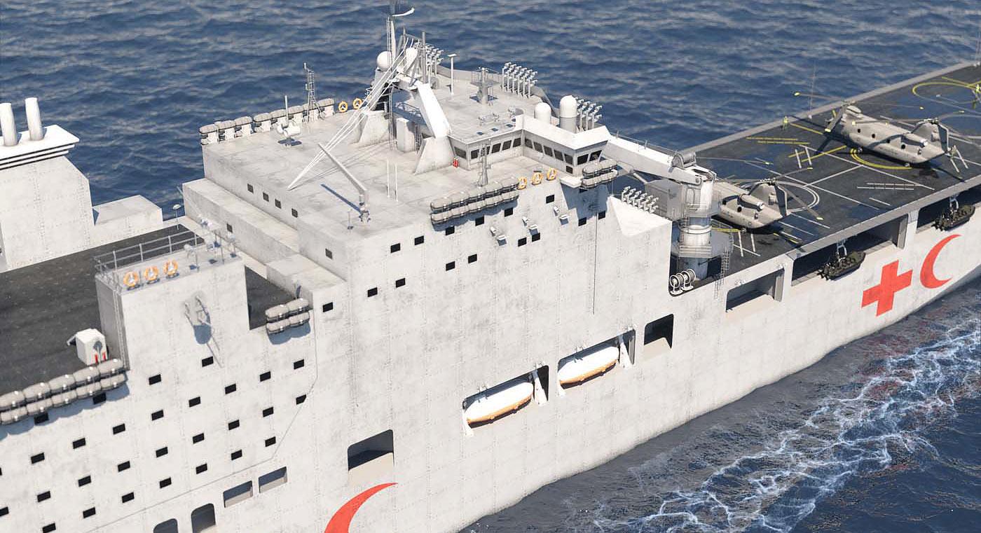Prevail MRV Hospital Ship