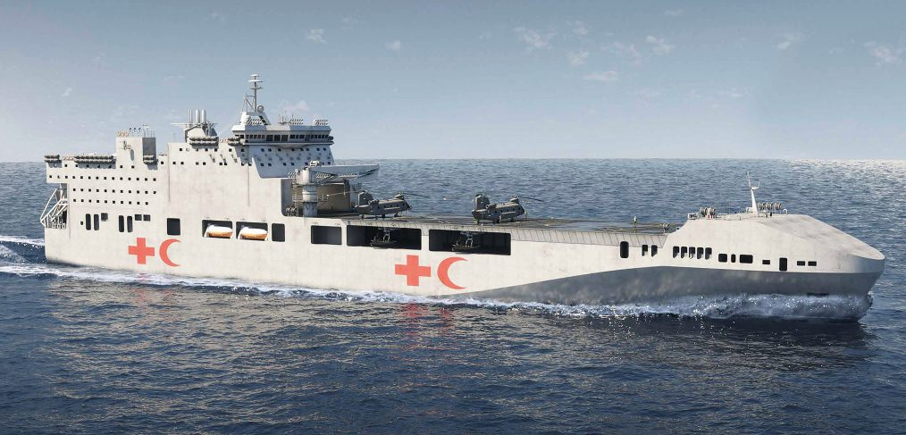 Multi Role Vessel - Humanitarian Aid Ship