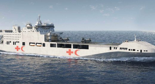 Multi Role Vessel - Humanitarian Aid Ship