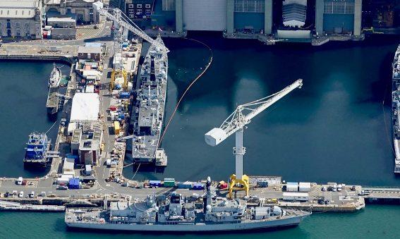 Type 23 frigates Devonport Dockyard